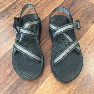 Chaco Men's Black Gray Sandals